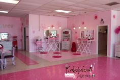 The Pink Palace where little girls are made into little princesses