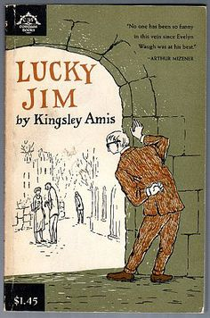 Lucky Jim by Kingsley Amis, illustrated by Edward Gorey.