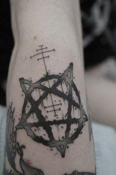 pentagram tattoo - Google 검색