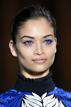 Where'd She Get Those Peepers? Fall's Most Inspiring Eye Makeup