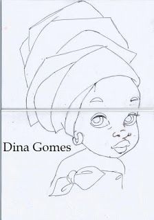 Ana Vilela Arts: painting - Jennifer Home Colouring Pages, Coloring Books, Pichwai Paintings, Afrique Art, Weaving Art, Traditional Paintings, Pictures To Paint, Fabric Painting, Indian Art