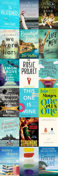 Beach books perfect for Summer 2014 reading!