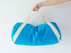 Nähpaket Sporttasche Duffle Bag - Türkis von DIY Sewing Academy auf DaWanda.com