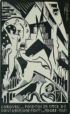 La Tentation de Saint-Antoine (The Temptation of Saint Anthony) - HENRI VAN STRATEN - suite of eight linocuts