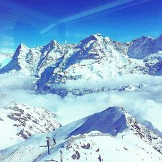View from #Schilthorn