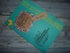 Zum Geburtstag für den Liebsten / Glückwunschkarte Mit Produkten von Stampin'Up! erstellt. Von Nadine Cruse – Unabhängige Stampin'Up! Demonstratorin www.derschnipselgecko.de