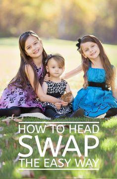 How to head swap - the easy way!   Free Quick Photoshop Tutorials   Focus…