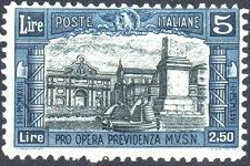 Stamps of Italy - Charity Stamps of 1924-1930