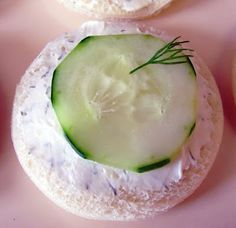Cucumber Sandwiches (For Valentine's Day Tea Party)