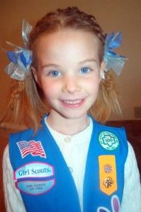 Daisy Girl Scout Bow Tutorial