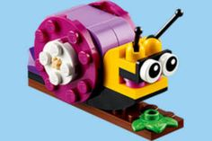 FREE LEGO Snail Mini Model Build at Lego Stores on http://www.freebies20.com/