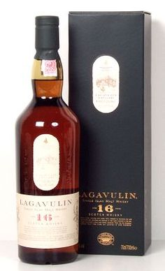 Lagavulin 16. the husband's new obsession.