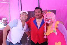 Gilberto Palma, Luis Mejia y Peluza Luzza