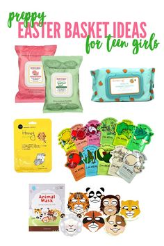 Small gift ideas for tween teen girls pinterest easter baskets easter basket ideas for teen girls negle Images