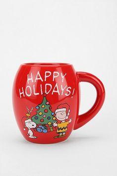 Cute Charlie Brown Christmas Mug!!