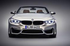 Vista frontal del nuevo BMW M4 Cabrio