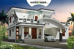 This 2232 sq ft 3Bhk Modern Contemporary Indian home Plan has 3 bedroom and 3 bathroom in 2232 sq ft area. Total area : 2232 sq ft Ground floor :1478.12 sq