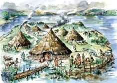 The Iron Age village at Black Loch of Myrton in the 5th Century BCE