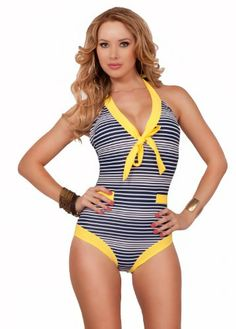 Retro Pin-Up Style Vintage Inspired Sailor Halter One Piece Swimsuit Swimwear Hot from Hollywood,http://www.amazon.com/dp/B00CXVMV4C/ref=cm_sw_r_pi_dp_H4z3sb1FJAFR8QNE