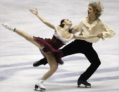 American ice dancers Meryl Davis and Charlie White: i love to watch these two dance on the ice!