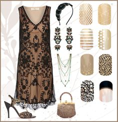 Flapper!!   Jamberry, nails, manicure, Jamicure