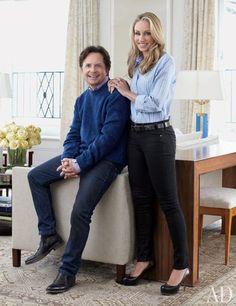 Michael J. Fox and Tracy Pollan Fox