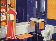 Crane Fixtures for the bathroom (1940)