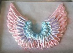 Meringue Wings by Veronica Arthur of With Love & Confection. Made these for my Unicorn Drip Cake.