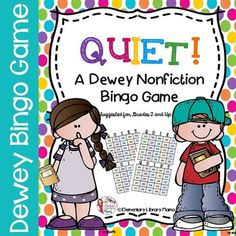 Important:  This product is also part of a huge discounted elementary library product bundle you can purchase here:Huge Elementary Library Product Bundle!This fun Bingo game will help your students review the different subjects found in each of the nonfiction Dewey sections in your library media center!
