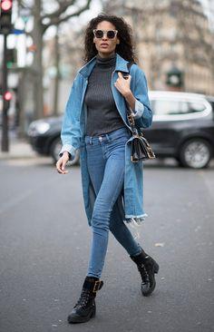 Jeans com Jeans   A tendência que as celebridades adoram + dicas de como usar
