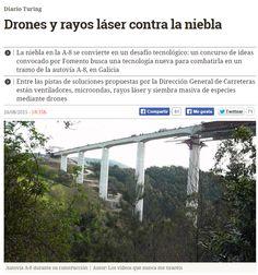 Drones y rayos láser contra la niebla / @diarioturing   #readyforinnovation