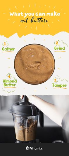 How to make nut butter in a blender | Vitamix Peanut Butter Recipe
