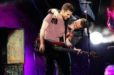make Guy smile, Chris, we love Guy's smile!