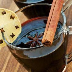 Новогодний глинтвейн с цитрусовым ароматом и специями
