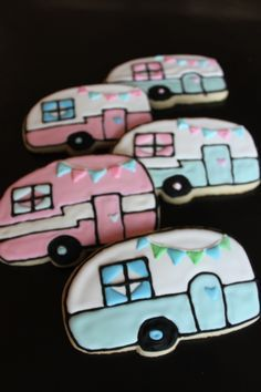 vintage trailer cookies - Google Search