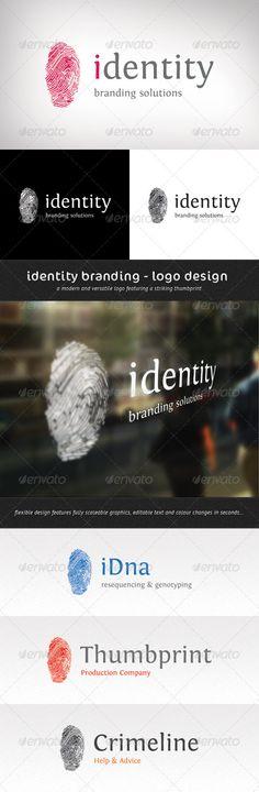 Identity Branding - Logo Template — Vector EPS #thumb #mark • Available here → https://graphicriver.net/item/identity-branding-logo-template/2643046?ref=pxcr