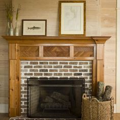 paint fireplace mantle would be white family roomkitchen