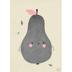 Fine Little Day | Pirum Parum Pear Poster