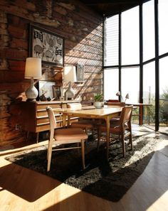 Midcentury Modern Cabin
