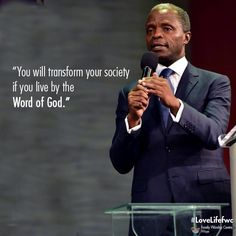 The #FWCAnchor #conformed2015 continues tomorrow by 9:30am. Pls, invite a friend. @ProfOsinbajo  #lovelifefwc