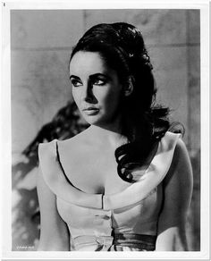 ELIZABETH TAYLOR -1963- Original Glossy Portrait Photo - from VIPs - GORGEOUS #2