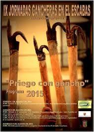"""Jornadas gancheras """"Priego con gancho"""" (9ª. 2015. Priego (Cuenca)"""