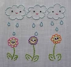 Wonderful Ribbon Embroidery Flowers by Hand Ideas. Enchanting Ribbon Embroidery Flowers by Hand Ideas. Baby Embroidery, Simple Embroidery, Silk Ribbon Embroidery, Hand Embroidery Designs, Hand Embroidery Stitches, Embroidery Techniques, Cross Stitch Embroidery, Zardosi Embroidery, Machine Embroidery