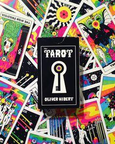 Oliver Hibert's Tarot #oliverhibert #tarot #psychedelic