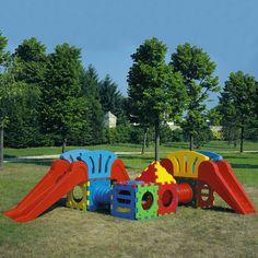 Composizione Cubic Toy, bellissimo gioco componibile indistruttibile, certificato e prodotto in Italia