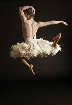 Cody in Matthew Bourne's Swan Lake