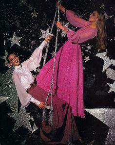 "slim-ne: "" Jerry Hall / Vogue Patterns, 1975 """