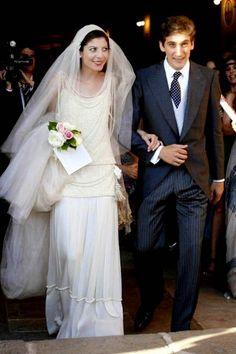 Royalty & Pomp:  Alejandra de Borbon y Yordi and Bosco Ussia Hornedo Wedding  (2008)