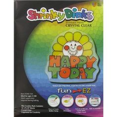 "8"" x 10"" Clear Shrinky Dinks Plastic Sheets  10 ct. pkg. at Hobby Lobby $6 (use 40% off coupon)"