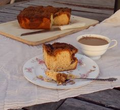 Cooking for My Peace of Mind: Sonoran Honey Streusel Coffee Cake - The New Southwest Cookbook